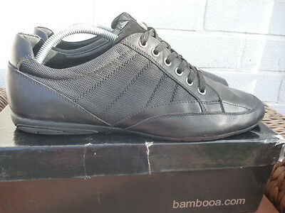 193a55cbcfe1 BAMBOO CHROME SIZE UK 11 MENS BLACK SHOES TRAINERS