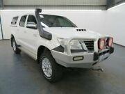 2015 Toyota Hilux KUN26R MY14 SR5 (4x4) Glacier White 5 Speed Automatic Dual Cab Pick-up Albion Brimbank Area Preview