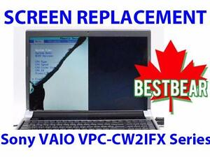 Screen Replacment for Sony VAIO VPC-CW2IFX Series Laptop