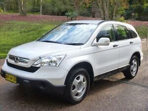 2007 Honda CR-V MY07 (4x4) Sport White 5 Speed Automatic Wagon Glenning Valley Wyong Area Preview