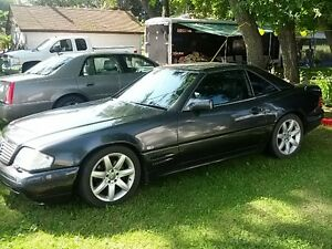 MERCEDES SL 600 AMG VERY RARE V12