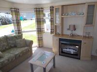 Central heated static caravan for sale East Yorkshire Coast 12 Month Season 12ft wide Bridlington