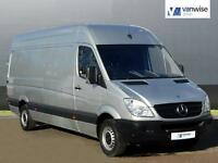 2014 Mercedes-Benz Sprinter 313 CDI LWB Diesel silver Manual
