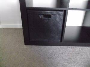 IKEA SHELVING UNIT, USED BUT EXCELLENT CONDITION, BLACK-BROWN COL Brighton-le-sands Rockdale Area Preview