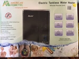 Tankless water heater 240v electric