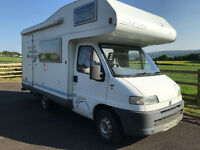 Campervan - Fiat Ducato Hymer
