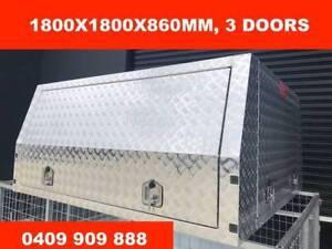 UTE ALUMINIUM CANOPY 1800X1800X860MM, 3 DOORS Ferntree Gully Knox Area Preview