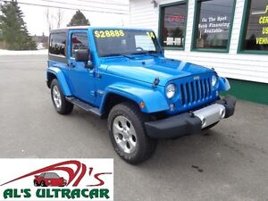 2014 Jeep Wrangler Sahara w/ NAV only $219 bi-weekly all in!