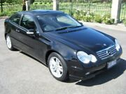 2004 Mercedes-Benz C180 Kompressor CL203 MY2003 Sports Black 5 Speed Automatic Coupe Enfield Port Adelaide Area Preview