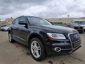 2016 Audi Q5 2.0T S-line Quattro NAVI*PANO ROOF*only 26132km!!!