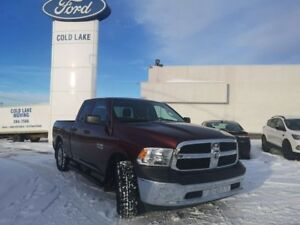 2016 Ram 1500 ST, QUAD CAB, SEATS 6, ONE OWNER, ACCIDENT FREE