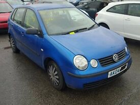 VW POLO 1.2 12V BREAKING FOR PARTS