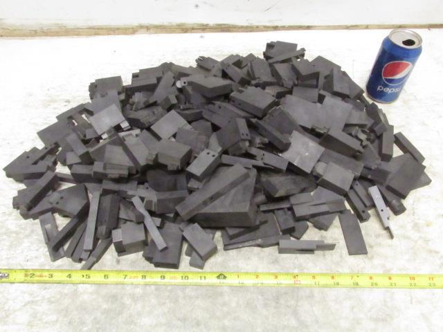 Carbon Graphite Scrap Pieces Mold Material 23.5 Lbs Various Shapes EDM Machine