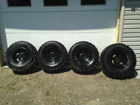 31 inch tires for sale with rims!!!
