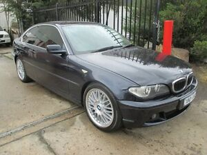 2003 BMW 320CI E46 MY2003 Steptronic Blue 5 Speed Sports Automatic Coupe Tottenham Maribyrnong Area Preview