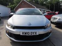 2010 10 VOLKSWAGEN SCIROCCO 2.0 GT TDI ***EXCELLENT CONDITION***