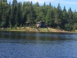 Camp de chasse enregistré vilégiature