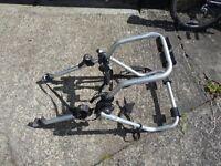 avenir aluminium bicycle car rack for four bikes