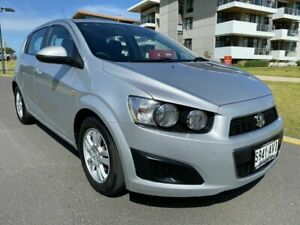 2012 Holden Barina TM MY13 CD Silver 5 Speed Manual Hatchback Somerton Park Holdfast Bay Preview