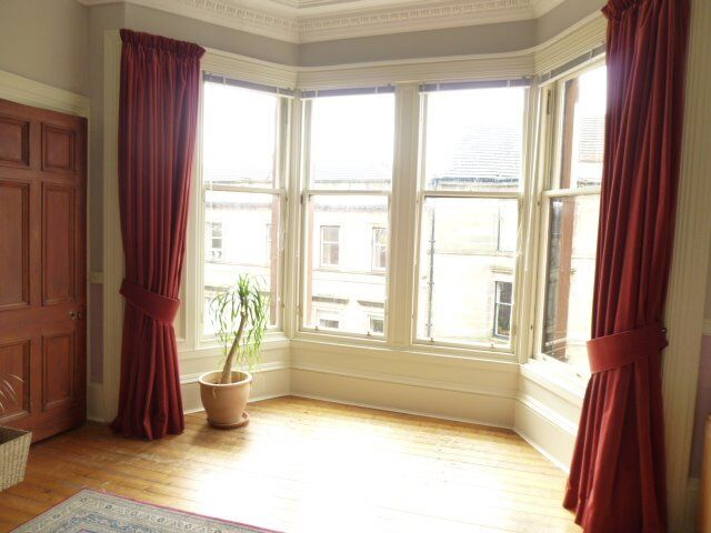 Long deep pink/soft burgundy velvet curtains suitable for large ...