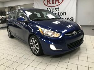 2017 Hyundai Accent GLS FWD I4 *SUNROOF/HEATED CLOTH SEATS/BLUET