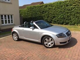 Audi TT Roadster (150 BHP) Great example of this super convertible