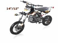 BRAND NEW 2015 125CC GIO GX125 DIRTBIKES 2 SIZES AVAILABLE