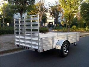 Aluminum Utility Trailers, 5x10 & 6x14 - Clearance Priced!
