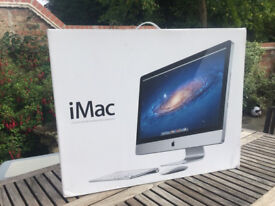 "Apple iMac 27"" Desktop - MC813B/A (May, 2011) with original packaging"