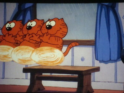 "35mm Color Cartoon/Animated Feature Film ""HEATHCLIFF"" voiced by Mel Blanc 1986"