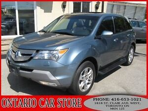 2007 Acura MDX TECH PKG. AWD NAVIGATION BACK UP CAM