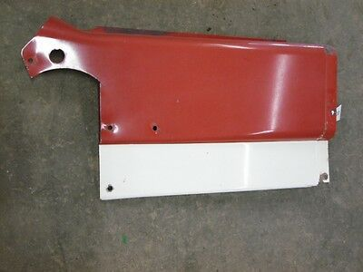 International Harvester 1066 Tractor Right Upper Dash Panel Tag 5030
