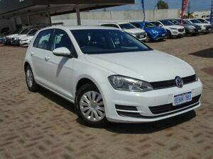 2013 Volkswagen Golf VII MY14 90TSI DSG White 7 Speed Sports Automatic Dual Clutch Hatchback Morley Bayswater Area Preview