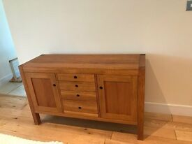 Solid Oak Sideboard For Sale