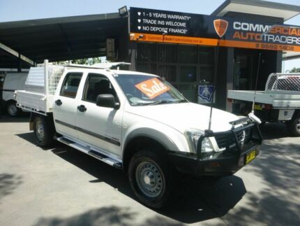 2004 Holden Rodeo RA LX Crew Cab White 5 Speed Manual Utility Merrylands Parramatta Area Preview