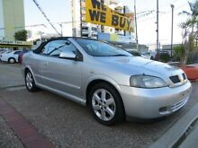 2002 Holden Astra TS Convertible Silver 4 Speed Automatic Convertible Southport Gold Coast City Preview