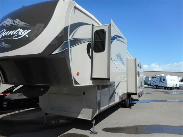 2014 BIG COUNTRY 3251 TS 5TH WHEEL GREAT REAR LIVING FLOOR ...