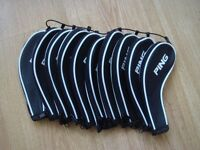 Ping Headcovers Set Of 10 New