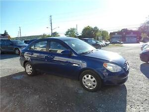 2007 ACCENT + WARRANTY + NEW MVI ! WITH A/C AND POWER WINDOWS