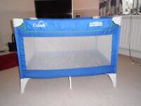 TRAVEL COT ONLY USED A COUPLE OF TIMES AT GRANDMA'S