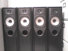 4 x 100W Mission 733 Stereo Speakers - Heathrow