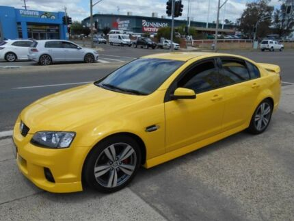 2011 Holden Commodore VE II SV6 Yellow 6 Speed Sports Automatic Sedan Fyshwick South Canberra Preview