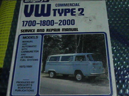 VW commercial Type 2 1700 -1800 -2000 gregory's 151A Belmont South Lake Macquarie Area Preview