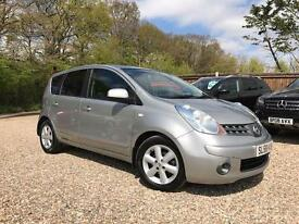 NISSAN NOTE 1.4 Acenta 5dr (silver) 2008