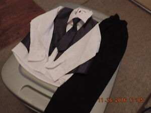 Boy's Size 4T Shirt, Vest, Tie and Pants London Ontario image 1