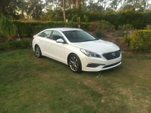 2016 Hyundai Sonata LF2 MY16 Active White 6 Speed Sports Automatic Sedan Capalaba Brisbane South East Preview