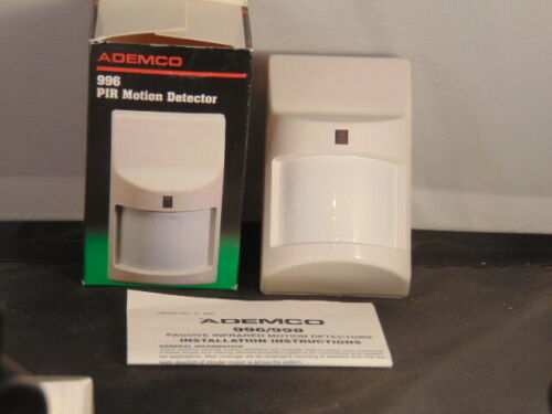 ADEMCO  996 PIR Motion Detector New Automatic Temperature Compensation