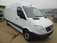 Mercedes-Benz Sprinter 313 CDI LWB 3.5T HIGH ROOF VAN DIESEL MANUAL WHITE (2012)