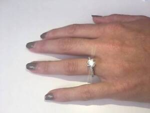 Diamond Engagement Ring -  White Gold -  2.00cts + Osborne Park Stirling Area Preview