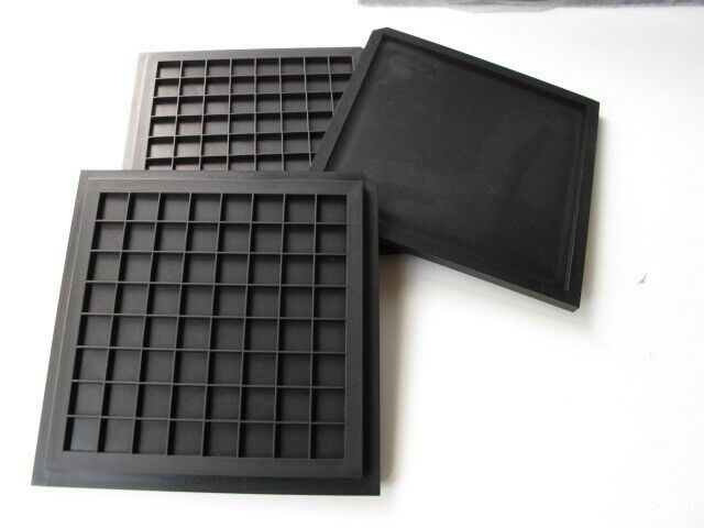 """Entegris H44 Series Tray Covers (4"""") Lot (50) - H44-359-62C02  STAT-PRO 150"""